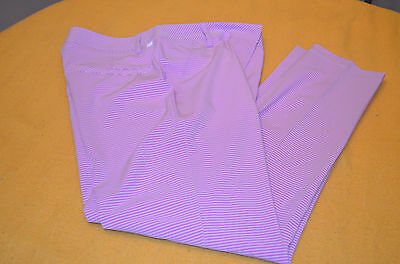 Womens Puma Dry cell stretch stripe golf pants Sz 4 NEW WITH TAGS NWT MSRP $90
