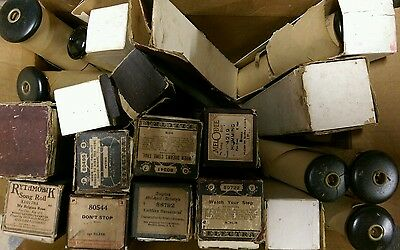 Estate Find Lot Of 18 Player Piano Rolls Look!  All In Excellent Condition But 1