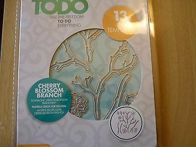 Todo Cherry Blossom Branch die cutting set, New.