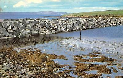A Churchill Barrier Orkney One of Several Inter Island Causeways