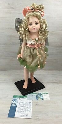 Master Piece Porcelain Girl Doll Collectible COA Limited Edition Mary Rose