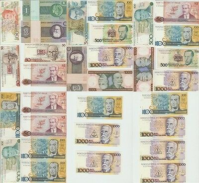 "(O&C) Brazil,Paper money Lot of 31 banknotes ""various conservation* [e959]"