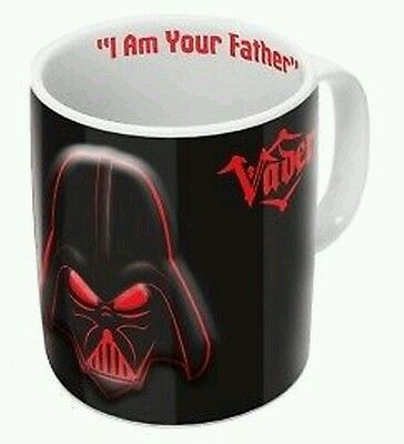 Official Star Wars Darth Vader 2D Relief Mug..new In Box