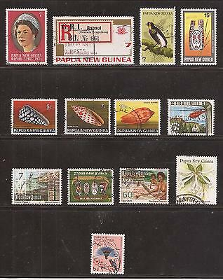Papua New Guinea  -  Lote De  Sellos  ( Lot Of Stamps )