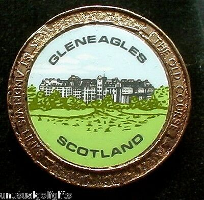 Old Stem Golf Ball Marker - Gleneagles Golf Resort Scotland - Now 20+  Years Old