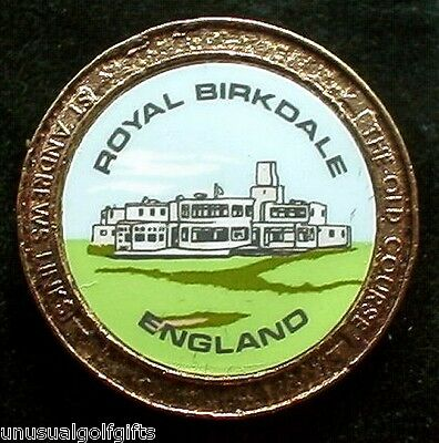 Old Stem Golf Ball Marker - Royal Birkdale Golf Club - Now 20+  Years Old