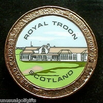 Old Stem Golf Ball Marker - Royal Troon Golf Club - Now 20+  Years Old