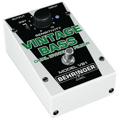 BEHRINGER Vintage Bass VB1 Guitar Pedal Stomp Box