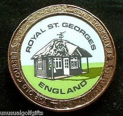 Old Stem Open Golf Ball Marker - Royal St Georges Golf Club - Now 20+  Years Old