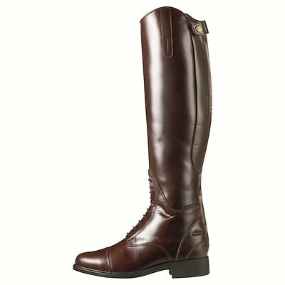 Ariat Bromont Tall H20 Non-Insulated Waxed Chocolate Size 6 (Full Calf)