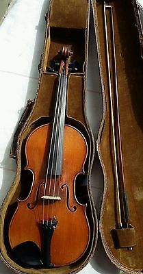 Old violin violon french mirecourt george apparut real 3/4 バイオリン скрипка 小提琴