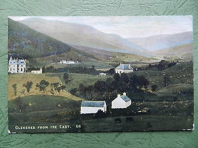 Vintage Postcard - Glenshee From The East , Perthshire