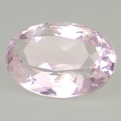 MORGANITE-NIGERIA 2.16Ct CLARITY SI2-PINK TINT-HAND FACETED-TOP COLLECTOR GRADE!