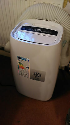 blyss 3 speed portable air conditioning unit