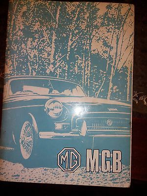 MG MGB Handbook Tourer (GHN5 and GHN4) and GT (GHD5 and GHD4)