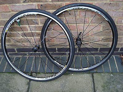 Mavic Aksium Wheelset 11 Speed with Continental Tyres - Shimano SRAM compatible
