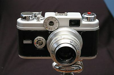 GUARANTEED! '58 Argus C4R with Mint- Mech & Exc+ Cosmetics Great Camera/Bargain!