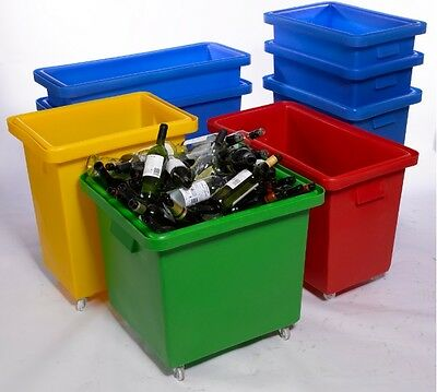 Bar Bottle Skip Bin Portable Pub Storage Waste Truck 135ltr 150ltr 165ltr 200ltr