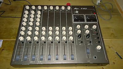 vintage alice mixing desk 1982 with limiters