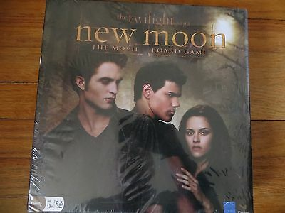 The Twilight Saga New Moon The Movie Board Game NEW Sealed