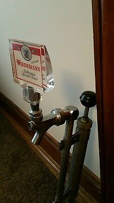 Vintage Weidemann Beer Keg Tap Pump Tapper With Handle use for every party