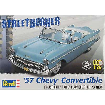 Plastic Model Kit-57 Chevy Convertible 1/25 031445042706