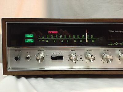 Sansui 5000A - Rare and Stunning High End Vintage Receiver Amplifier  - 55Wpc