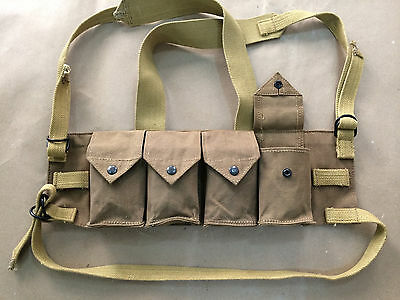 Rhodesian Army Fereday Chest Rig Selous Scouts Sas Assault Vest Rhodesia Webbing
