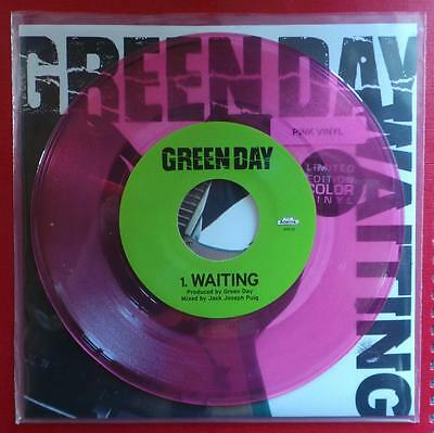 """Green Day - Waiting - Limited Edition 7"""" Pink Vinyl Single. Brand New Item"""