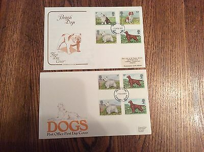 GB 1979 Dogs First Day Covers