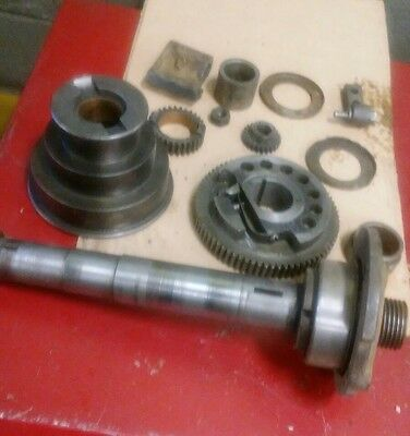 logan 820 metal lathe parts headstock gears spindle