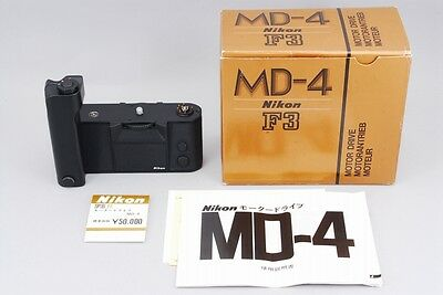 【A Top Mint in Box】 Nikon MD-4 Motor Drive for Nikon F3 F3 HP From JAPAN #2142