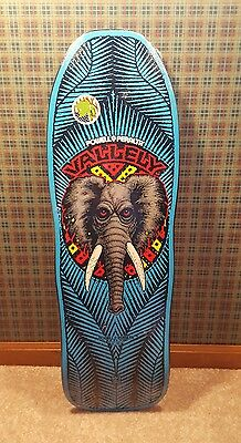 "NOS Powell Peralta Mike Valley elephant ""reissue"" blue old school"