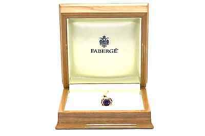 Very rare Faberge egg pendant 18kt yellow gold