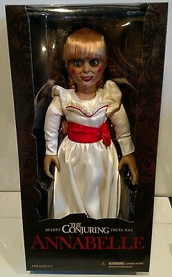 """Mezco 18"""" The Conjuring Annabelle Doll Case Fresh!"""