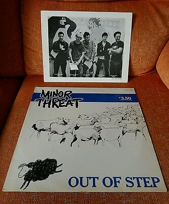 Minor Threat - Out Of Step  vinyl (lp)