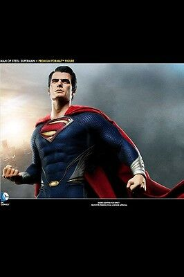 1/4th Man Of Steel Superman Premium Format  Sideshow NEU