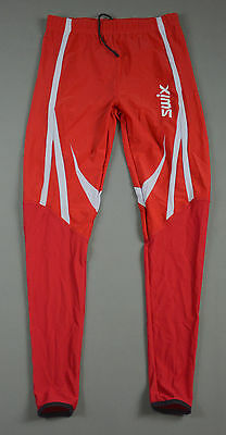 Swix Of Norway Red Ski Cross Country Tights Size S/m