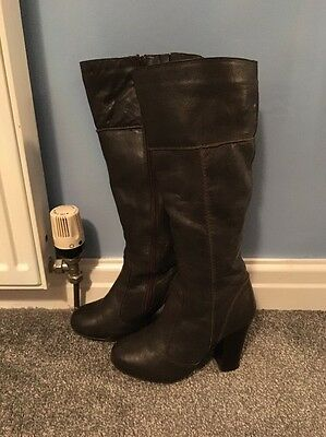 womens knee high boots size 4