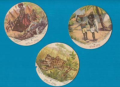 Selection all different cheese label lid inserts  Fromage  la Vache qui rit #484