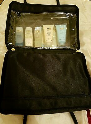 Boots No7 Skin And Body Care Collection Travel / Gift Set Toiletry Wash Bag