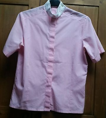 CC Ladies Show Shirt. Pink. Worn Once. s14