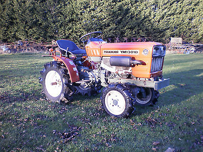 Yanmar Ym 1301D 4Wd Compact Tractor