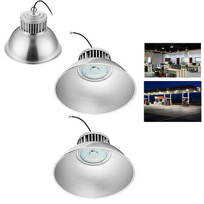 3x 100W LED High Bay Light 6000-6500K Cool Industrial Commercial Building Light