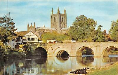 Hereford Bridge and The Cathedral River