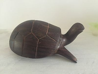 Wooden Craving Of A   Tural / Tortoise