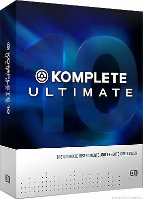 Native Instruments Komplete 10 Ultimate - Serial Only