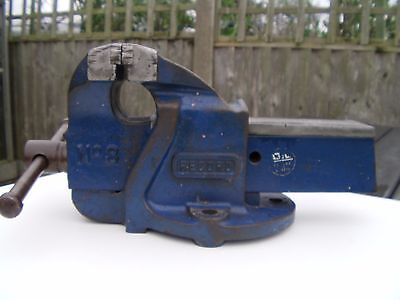 Record No.3 Bench Vice. Made In England Engineering Tool