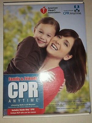 New American Heart Association Family And Friends CPR Skills Anytime Manikin