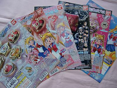 Sailor moon  BANDAI   Display card  6set